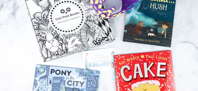 Owl Post Books Kids Book Subscription Box Review -January 2021 + Coupon