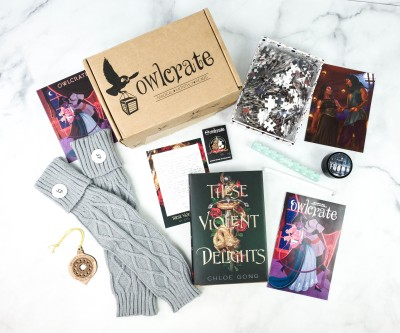 OwlCrate December 2020 Review + Coupon – LOVE IS A BATTLEFIELD!