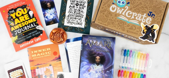 OwlCrate Jr. January 2021 Box Review & Coupon – INNER MAGIC!