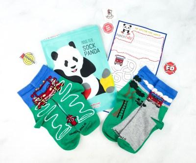 Panda Pals Kids Sock Subscription Review + Coupon –  December 2020
