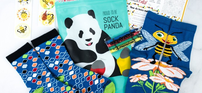 Panda Pals Kids Sock Subscription Review + Coupon –  January 2021