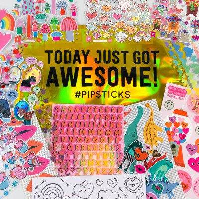 Pipsticks Kids Club Classic January 2021 Sticker Subscription Review + Coupon!