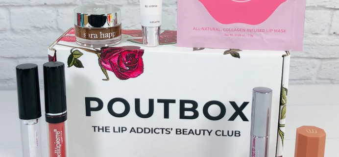 Poutbox February 2021 Spoilers + Coupon!