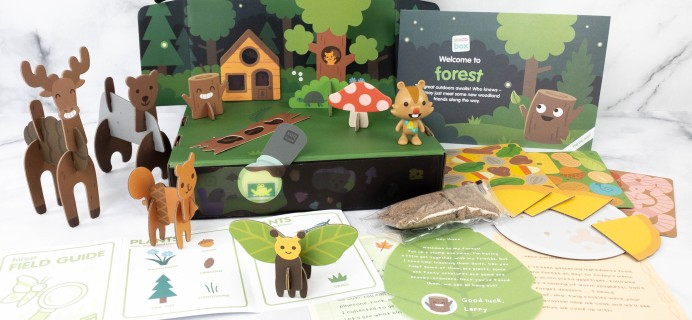 Sago Mini Box Review + Coupon – FOREST