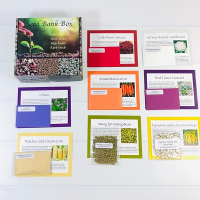 Seed Bank Box Review – January 2021