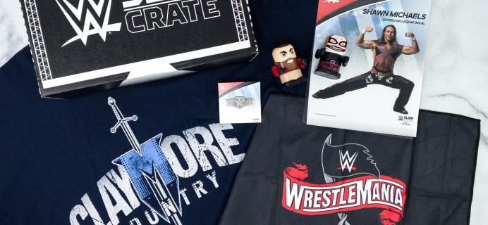 WWE Slam Crate Review + Coupon – April 2020