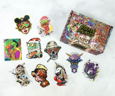 Sticker Savages December 2020 Subscription Box Review + Coupon