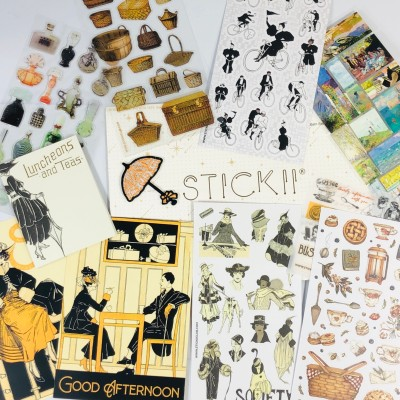 STICKII Club January 2021 Subscription Box Review – Vintage Pack!