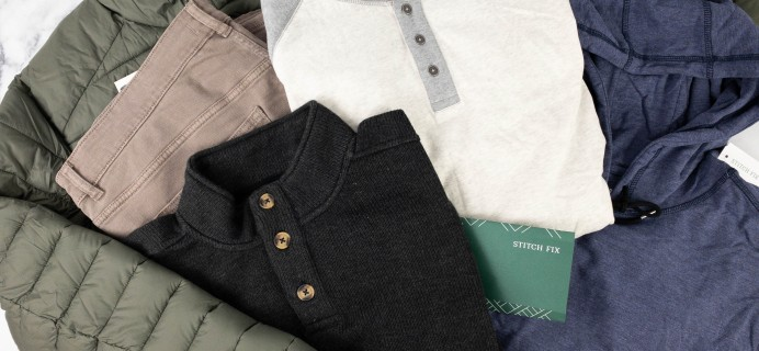 Stitch Fix Men Review – January 2021 – Winter Basics