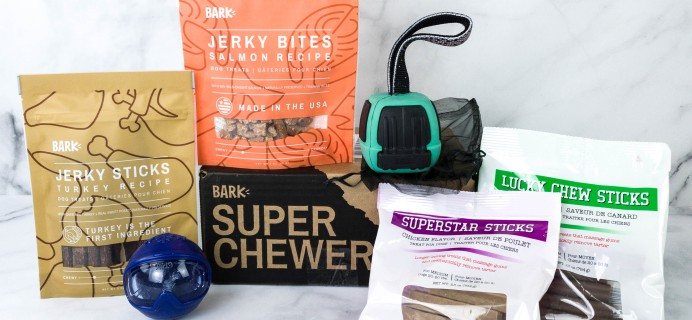Super Chewer January 2021 Dog Subscription Box Review + Coupon!