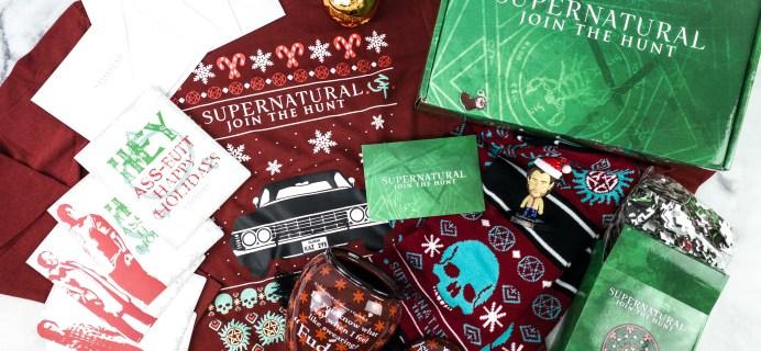 Supernatural Box Review – Winter 2020