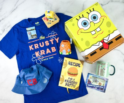 Bikini Bottom Box Winter 2020 Spongebob Squarepants Subscription Box Review + Coupon