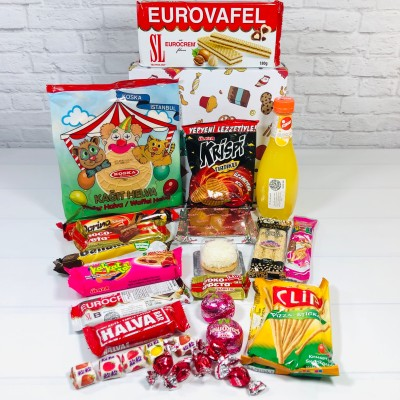 Try My Snacks Subscription Box Review: January 2021 GREECE