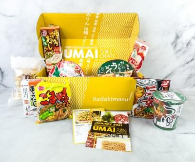 Umai Crate January 2021 Subscription Box Review + Coupon
