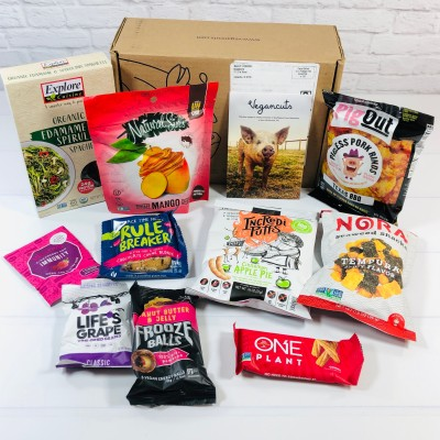 Vegancuts Snack Box Review + Coupon – January 2021