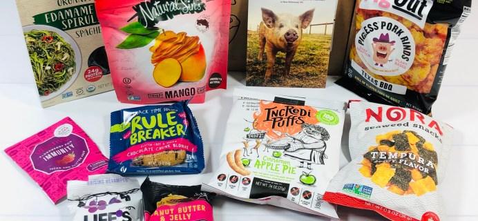 Vegancuts Snack Box Review + Coupon – January 2021