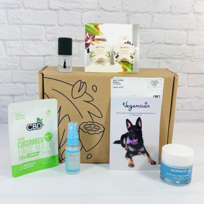 Vegancuts Beauty Box Review + Coupon – January 2021