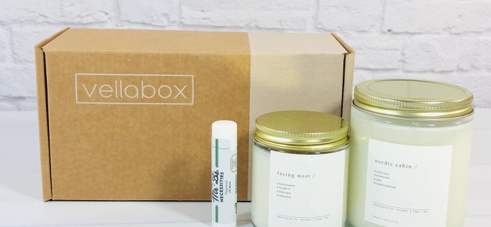Vellabox Candle Subscription Box Review + Coupon – January 2021