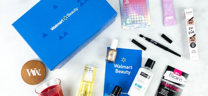 Walmart Beauty Box Winter 2020 Eye Love Being Home Limited Edition Box Review