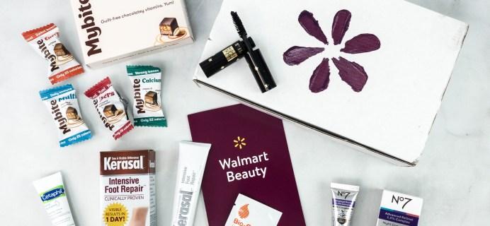 Walmart Beauty Box Review – Winter 2020 CLASSIC Box