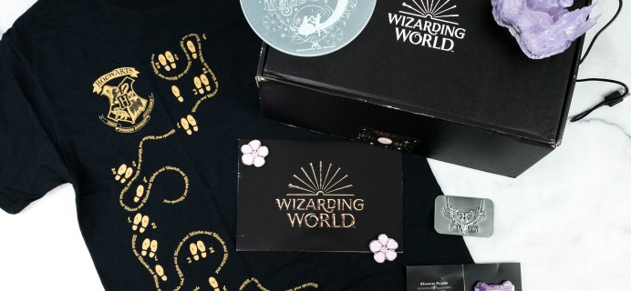 J.K. Rowling's Wizarding World Crate November 2020 Review + Coupon – YULE BALL!