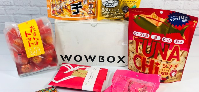 WOWBOX Review – January 2021 Healthy & Beauty Box