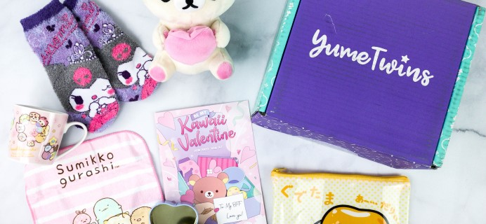 YumeTwins February 2021 Subscription Box Review + Coupon