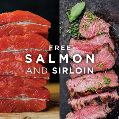 ButcherBox Deal: FREE Salmon + Sirloin with Subscription!