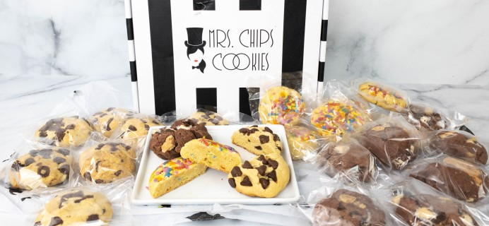 Mrs. Chips Cookies Review – Cookie Collage Box!