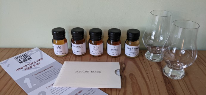 Pour & Sip Subscription Box February 2021 Review