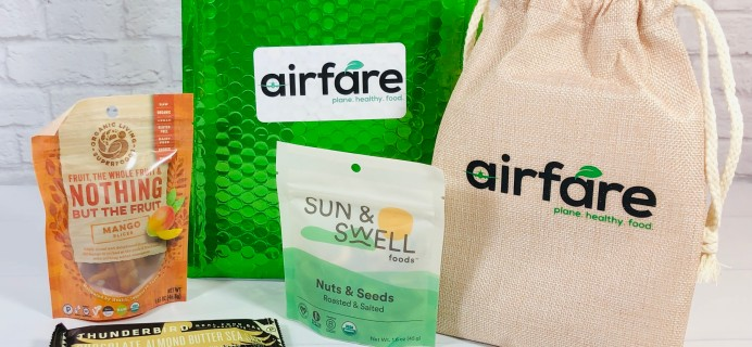 airfare February 2021 Subscription Box Review + Coupon