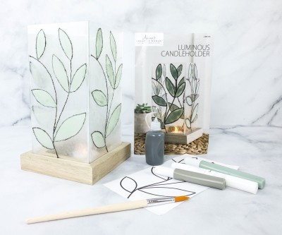 Annie's Creative Woman Kit-of-the-Month Club Review + Coupon – LUMINOUS CANDLEHOLDER