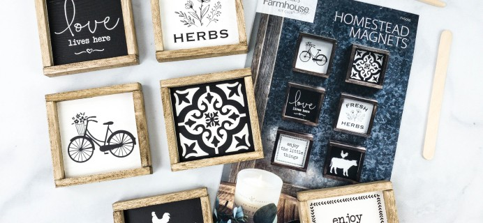 Annie's Farmhouse Style Kit Club Review + Coupon – HOMESTEAD MAGNETS