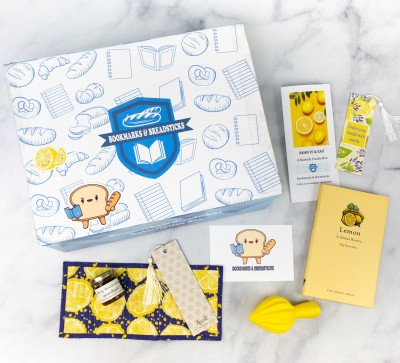 Bookmarks & Breadsticks Spring 2021 Subscription Box Review – LEMONS