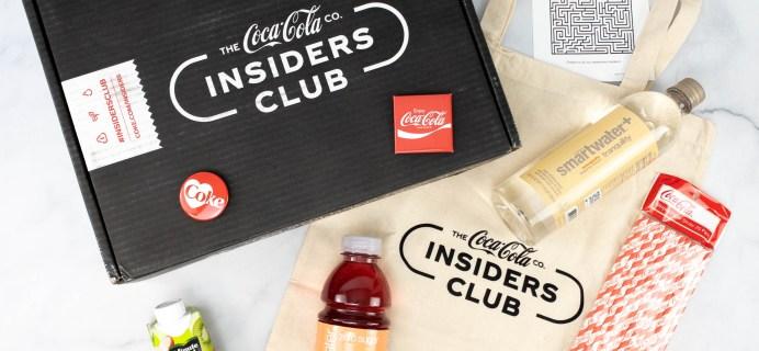 Coca-Cola Insiders Club Review – February 2021