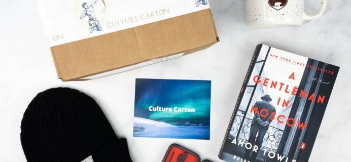 Culture Carton Review + Coupon – February 2021