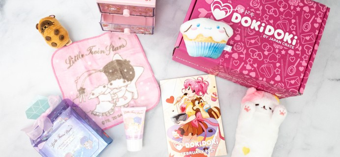Doki Doki February 2021 Subscription Box Review & Coupon