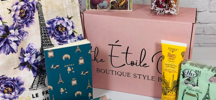 Etoile Box Review + Coupon – February 2021