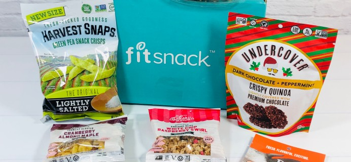 FitSnack Subscription Box Review + Coupon – January 2021