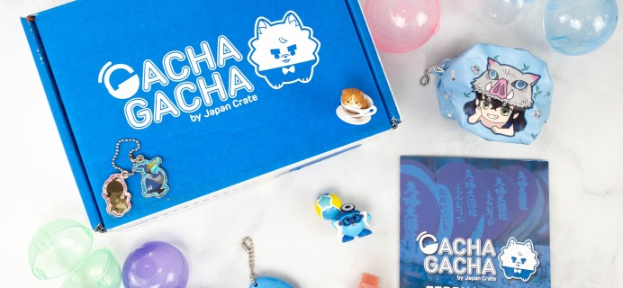 Gacha Gacha Crate February 2021 Subscription Box Review + Coupon
