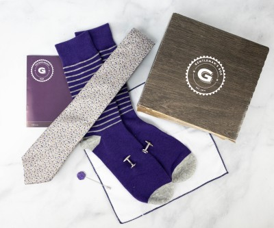The Gentleman's Box February 2021 Subscription Box Review + Coupon
