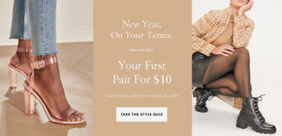 JustFab Coupon: New VIP Members First Style $10!