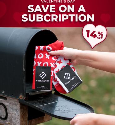 Sock Fancy Valentine's Day Deal: Get 14% Off!