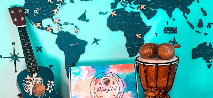 Safiya's World Music Playlist – Review? Music and Travel Subscription + Coupon!
