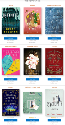 Amazon First ReadsMarch 2021 Selections: 1 Book FREE for Amazon Prime Members