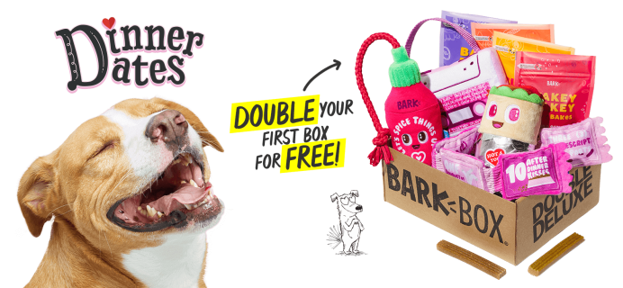 BarkBox Coupon: Double Your First Box for FREE + Valentine's Day Theme!