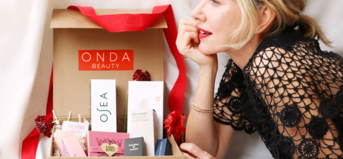 ONDA Beauty Limited Edition Valentine's Day VBox Available Now + Full Spoilers!
