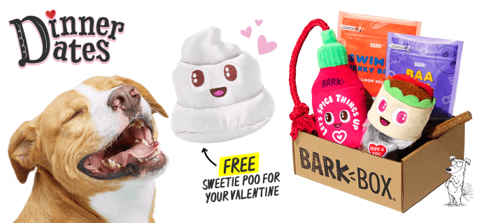 BarkBox Coupon: FREE Toy in EVERY Box + Valentine's Day Themed Box!