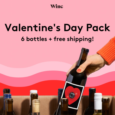 Winc Valentine's Day Pack Available Now!