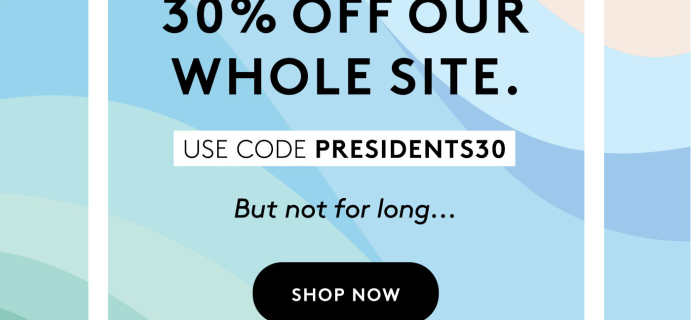 Birchbox Presidents' Day Sale: Get 30% Off SITEWIDE!